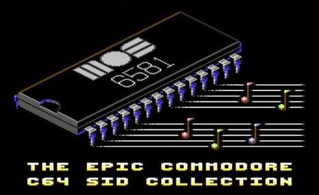 Indie Retro News: The Epic Commodore C64 SID Collection - 10 hours of amazing tunes! | Sound Tracker | Scoop.it