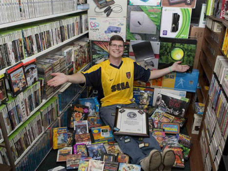 World's biggest video game collection goes for $750,000 - CNET | Game Desing Galaxy | Scoop.it