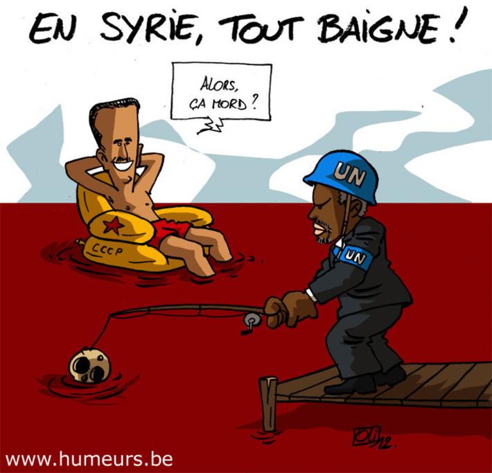 Les violences continuent sans arrêt en Syrie | Baie d'humour | Scoop.it