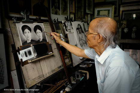The Portraitist Of Pho Hang Ngang | Tewfic El-Sawy | Fuji X-Pro1 | Scoop.it