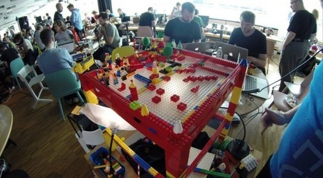 LegoTechno: Sliding Lego Blocks Make Music with littleBits, Maschine, Arduino - Create Digital Music   Open Source Hardware News   Scoop.it