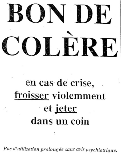 Bon de colère | le faire en français | Scoop.it