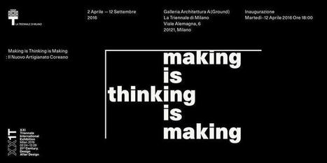 Fare è Pensare è Fare: il 12 Aprile inaugurazione Mostra Artigianato Coreano alla Triennale del Design a Milano   Social Media Press   Scoop.it