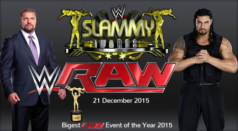 WWE Raw The Slammy Awards 21 December 2015 Full HD | AAR Online Free Movies | Watch Online Movies | Scoop.it