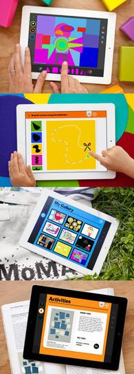 MoMA | Art Lab iPad App | People & Art & Technology | Scoop.it