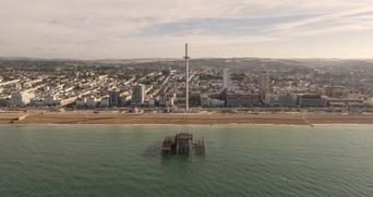 Poma : 160 m au-dessus de la Manche ! | transports par cable - tram aérien | Scoop.it