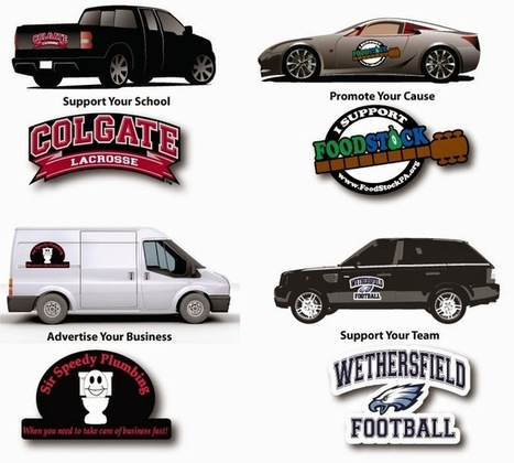 SteelBerry: Express Yourself with Car Magnets! | Custom Car Bumpers Magnets, Decals & Stickers | Scoop.it