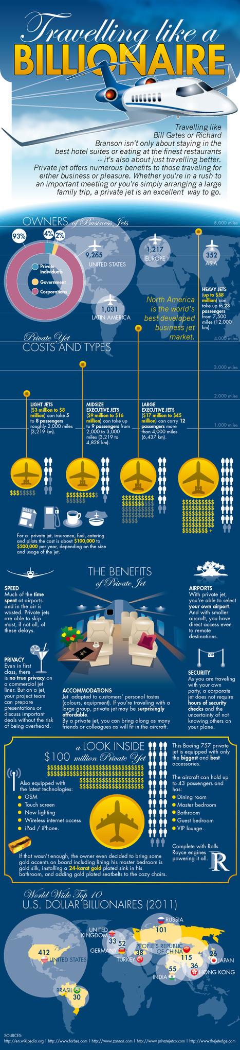 Fabulous Infographics On Billionaires | Infographics | Scoop.it