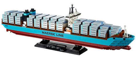 LEGO Maersk Line Triple-E Container Vessel | NextGadgets.net | Cool Gadgets, New Gadgets, Latest Gadgets, Future Gadgets, Electronic Gadgets, Hi Tech Gadgets News | Maritime Issues | Scoop.it