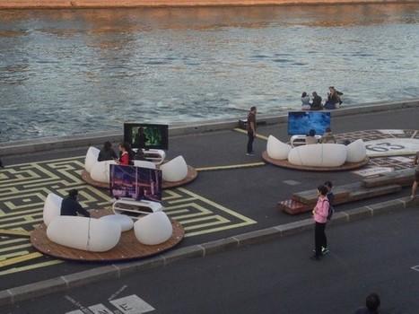 Samsung revisite les soirées télé avec son festival «les Incurvées»   streetmarketing   Scoop.it