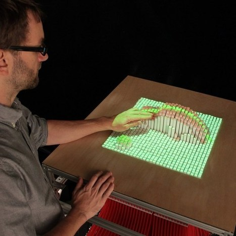 MIT researchers develop InForm, a shape-shifting display surface (Wired UK) | Digital Sailing | Scoop.it