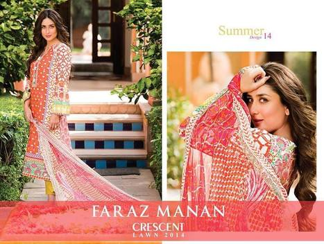 Faraz Manan latest 2014|lawn collection - ..:: Fashion Wd Passion ::.. | Wear Fashion with Style | Scoop.it