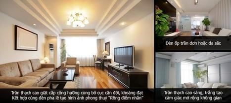 3 xu hướng thiết kế trần thạch cao phòng khách ấn tượng nhất năm 2014 | Noi that | Scoop.it