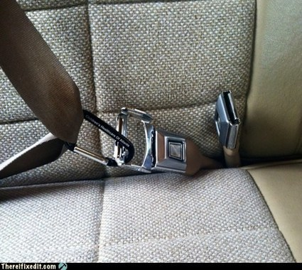 Child Safety Belt: I done fixed it! | Daddytude | Scoop.it