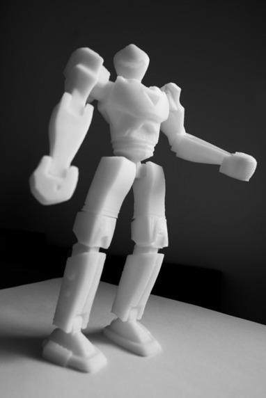 Impression 3D : une technologie améliorée sera libre début 2014 | Libertés Numériques | Scoop.it