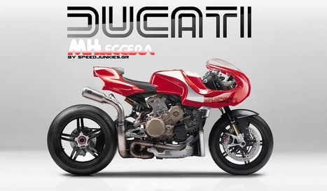 Ducati MHLeggera Concept by Speed Junkies | Ductalk Ducati News | Scoop.it