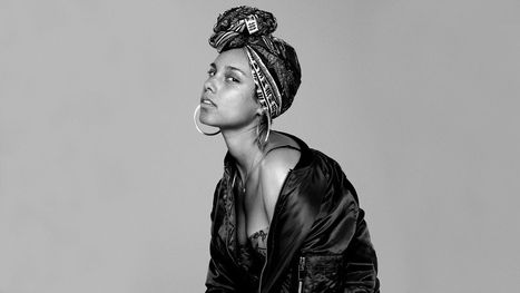 """Je ne veux plus rien camoufler"" Alicia Keys #Nomakeup 