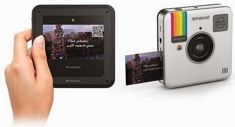 Socialmatic Instagram diventa una fotocamera reale Polaroid | Social Media War | Scoop.it