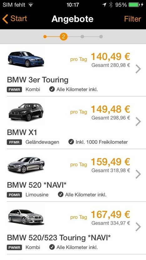 Sixt App - Enjoy a transparent booking process with the Sixt app | | FEED THE WORLD | Scoop.it