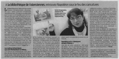 A la Bibliothèque, retrouvez Napoléon sous le feu des caricatures | Revue de presse | Scoop.it