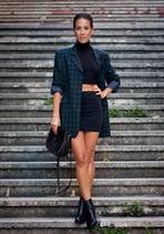 VINTAGE TARTAN BLAZER   Fashion   Scoop.it