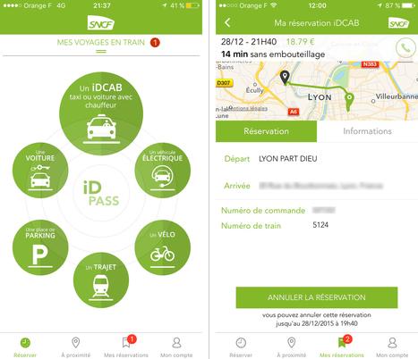 Test de #iDPASS, l'app @SNCF qui réunit autos, vélos et chauffeurs lors de nos déplacements | Le Zinc de Co | Scoop.it