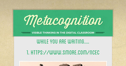 Metacognition | iPads in the Elementary Classroom | Scoop.it