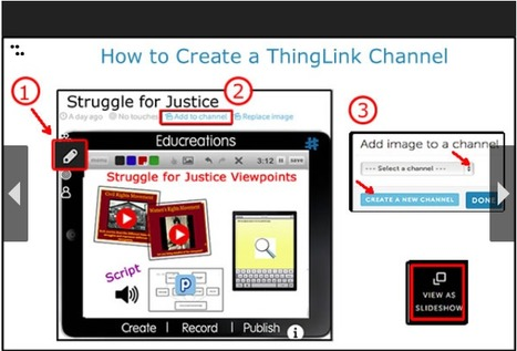 A ThingLink Channel for Teachers | Integration Ideas | Scoop.it