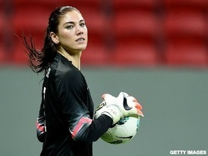 USWNT's Hope Solo: Therapy During Soccer Suspension Help Her Anger Issues | MyHealthShare Medical Reporter | Scoop.it