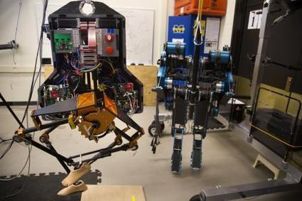 Two-legged robot walks outside at U-Michigan | Science technology and reaserch | Scoop.it