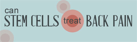 Stem Cell Treatment: A Possible Cure for Low Back Pain | CorCell | www.tbbi.org | Scoop.it