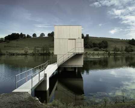 [Lucerne, Switzerland] Lake Rotsee Refuge / Andreas Fuhrimann Gabrielle Hächler Architekten | The Architecture of the City | Scoop.it