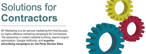 SP Marketing : How Important Is Online Marketing For Contractors? | marketing for contractors | Scoop.it