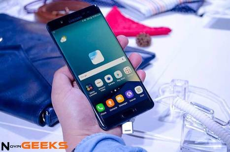 Samsung Galaxy Note 7: Quad HD Curved Display, Iris Scanner, Waterproof | NoypiGeeks | Philippines' Technology News, Reviews, and How to's | Gadget Reviews | Scoop.it