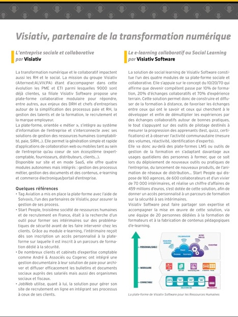 L'entreprise sociale et collaborative #plateforme collaborative #process #social learning | PREDA - They learn, You Grow | Scoop.it