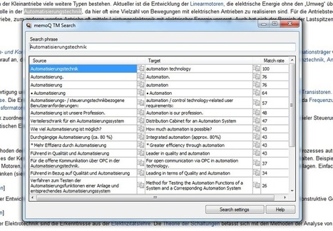 Translation Tribulations: The memoQ TM search tool (by Kevin Lossner) | Translator Tools | Scoop.it