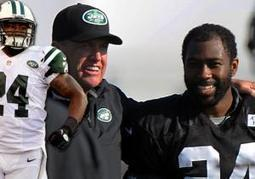 Thought of losing Darrelle Revis gives NY Jets coach Rex Ryan a splitting headache | Sports Ethics: Glover, J., Football Coach | Scoop.it
