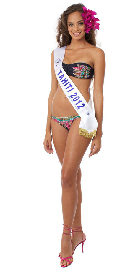 Photos : Miss France 2013 est Hinarani De Longeaux miss Tahiti ! | Radio Planète-Eléa | Scoop.it