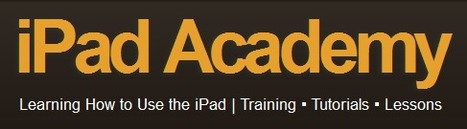 How to Articles & Directions for Arranging Apps & Folders on the iPad | iPad Academy | ipads in education | Scoop.it