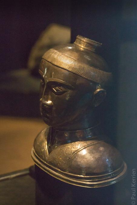 Bretagne - Finistère - Landevennec :  1) reliquaire de Gwennolé au musée de l'ancienne abbaye. | photo en Bretagne - Finistère | Scoop.it
