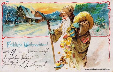 Weihnachtskarten mit Kindern und Weihnachtsmann | gaidaphotos | Scoop.it