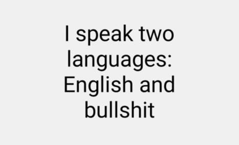 I speak two languages - (Phil draws + writes) | Comics | Scoop.it