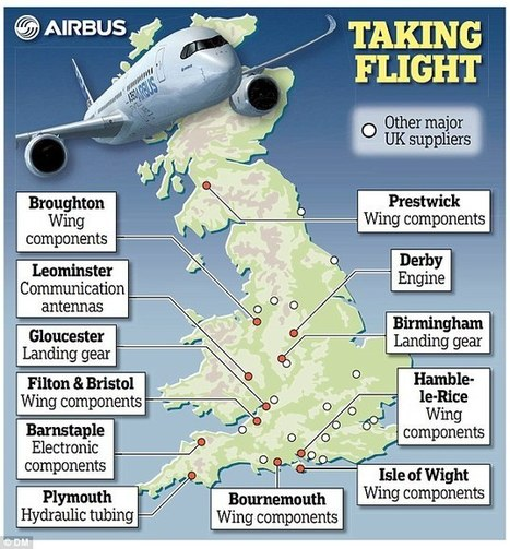 Boost for UK as Airbus launches new airliner that's around 40 per cent 'Made ... - This is Money | OneEurope | Scoop.it