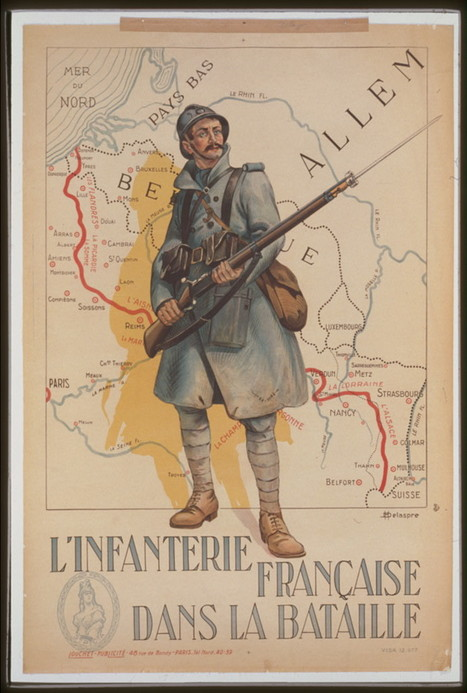 1900 affiches de 14-18 en ligne - World War I Posters - Library of Congress | Nos Racines | Scoop.it