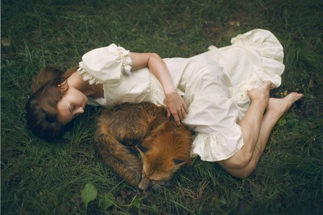 Meet The Photographer Who Uses Real Animals In Her Dreamy Portraits | As digitally seen ... | Scoop.it
