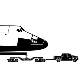 Towing, Flying and Hauling the Space Shuttle: Photos : Discovery News   Politically Incorrect   Scoop.it