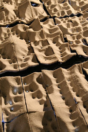 Critical Mass: Voronoi shell made with sand | Soomeen Hahm | Scoop.it