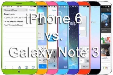 iPHONE 6 Vs. GALAXY NOTE 3 AS PHABLETS | MOBILES 2 PAPERTABS eDIGEST | Scoop.it