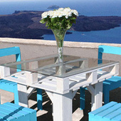 Make Beautiful Outdoor Dining Furniture Out of Wooden Pallets | Life Hacks & Helpers - Reference & Research | Scoop.it