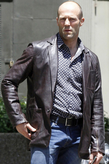 Get the Mafioso Look with $280 investment in Jason Statham Leather Jacket | Leather Jacket Stylish | Scoop.it